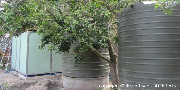 Water tanks for storage