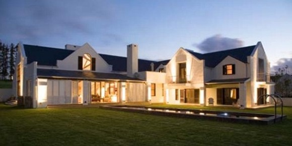 Modern cape dutch style house 5 luxury residential for Farm style house designs south africa